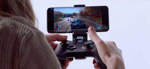 Strumieniowanie gry na ekranie Smartfona