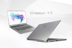 MSI Creator 17 - Pierwszy laptop wykorzystujący technologię Mini LED
